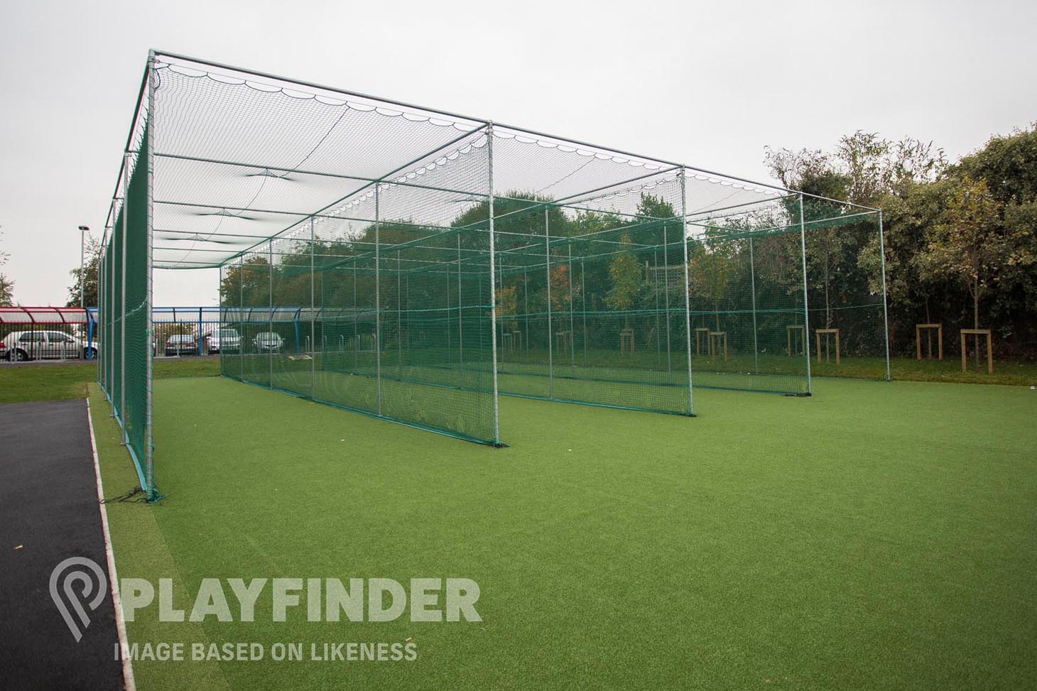 Dallow Primary School Nets | Artificial cricket facilities