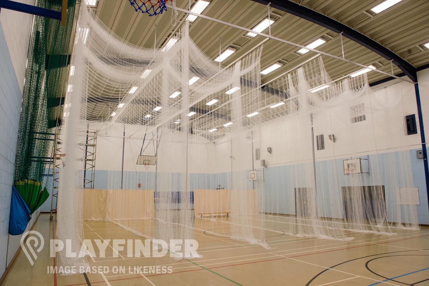 Altwood Church of England School Nets | Sports hall cricket facilities