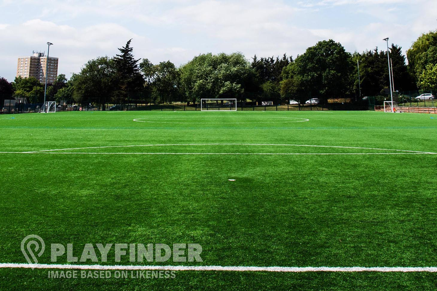 Manchester Creative And Media Academy 11 a side | 3G Astroturf football pitch