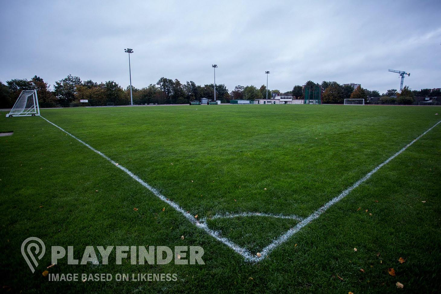 Harrogate Road Playing Fields 11 a side | Grass football pitch