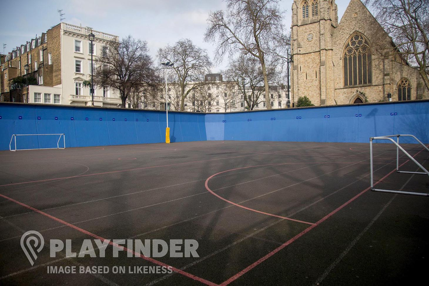 St Paul's Catholic High School 5 a side | Concrete football pitch