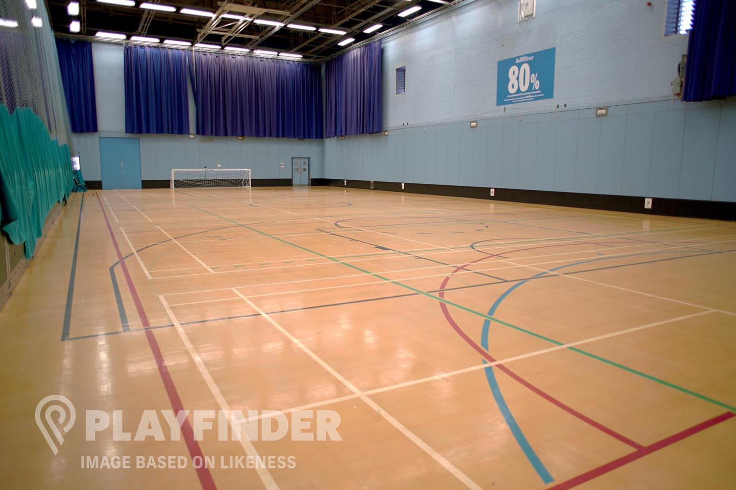 Haggerston School 5 a side | Indoor football pitch