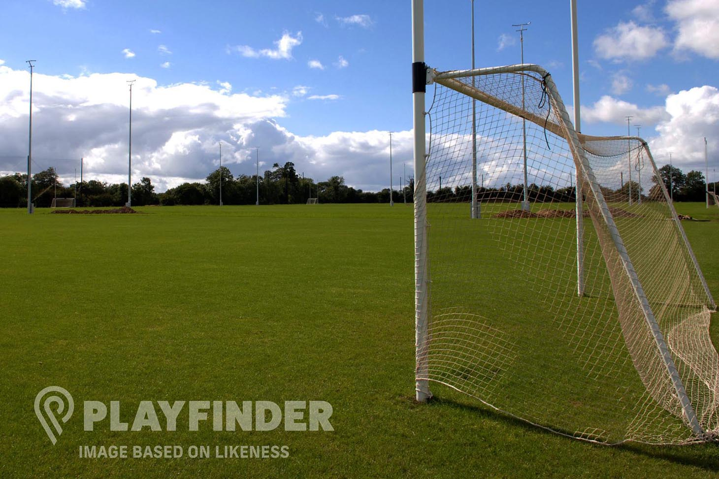 Cuala GAA Club - Hyde Park Full size | Grass gaa pitch