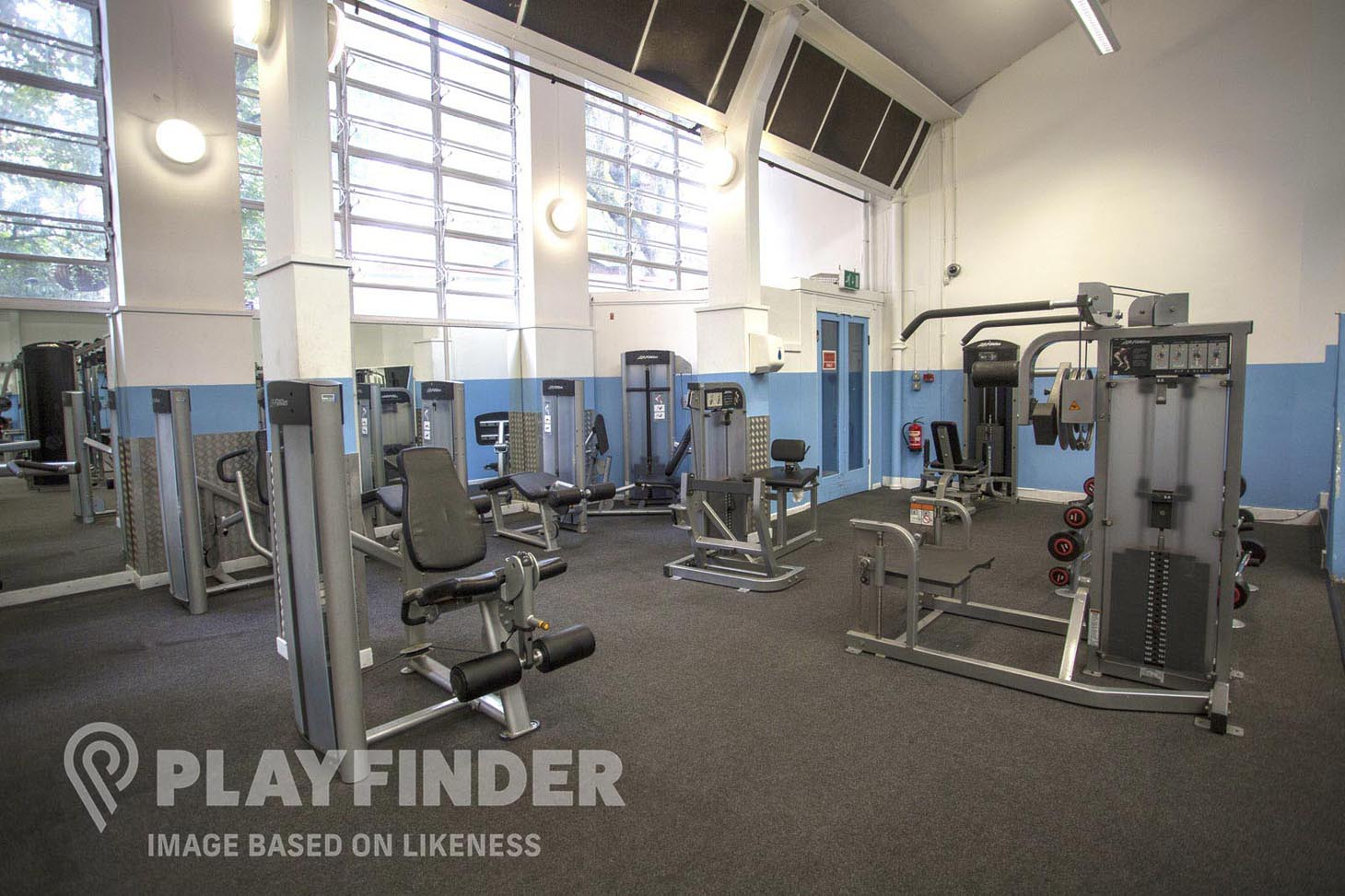 Queen Mother Sports Centre Gym gym
