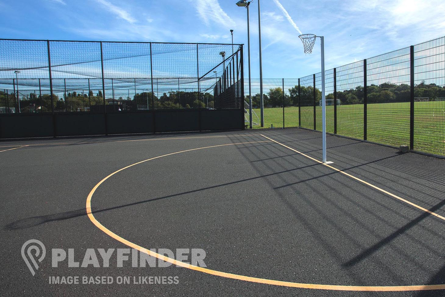 Ardwick Sports Hall Outdoor | Hard (macadam) netball court