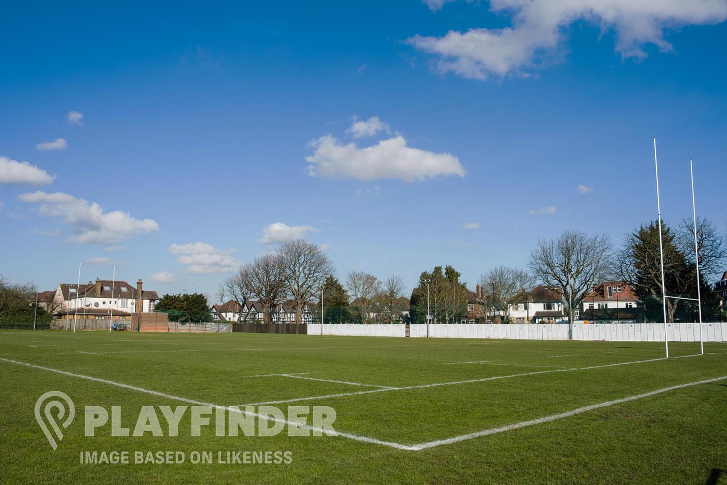 De La Salle Academy Training pitch | Grass rugby pitch