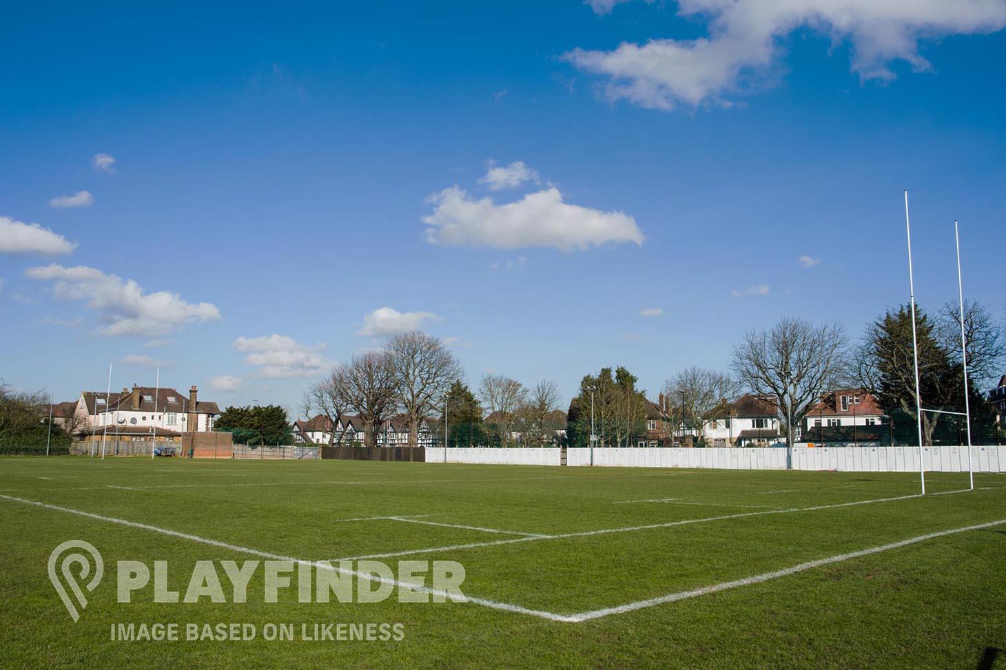 Railway Union Sports Club Union rugby pitch