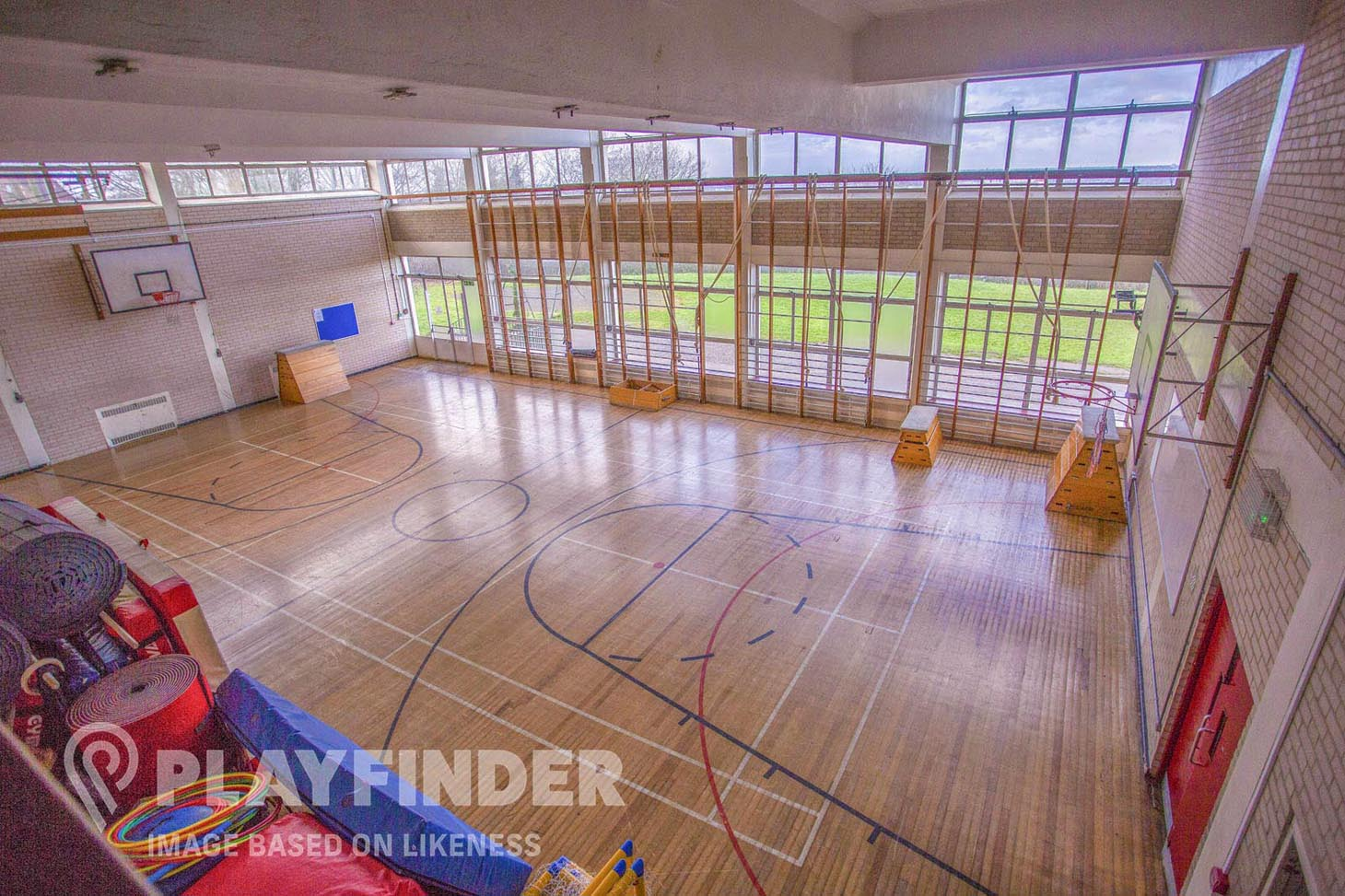 Hazelwick School Gymnasium space hire