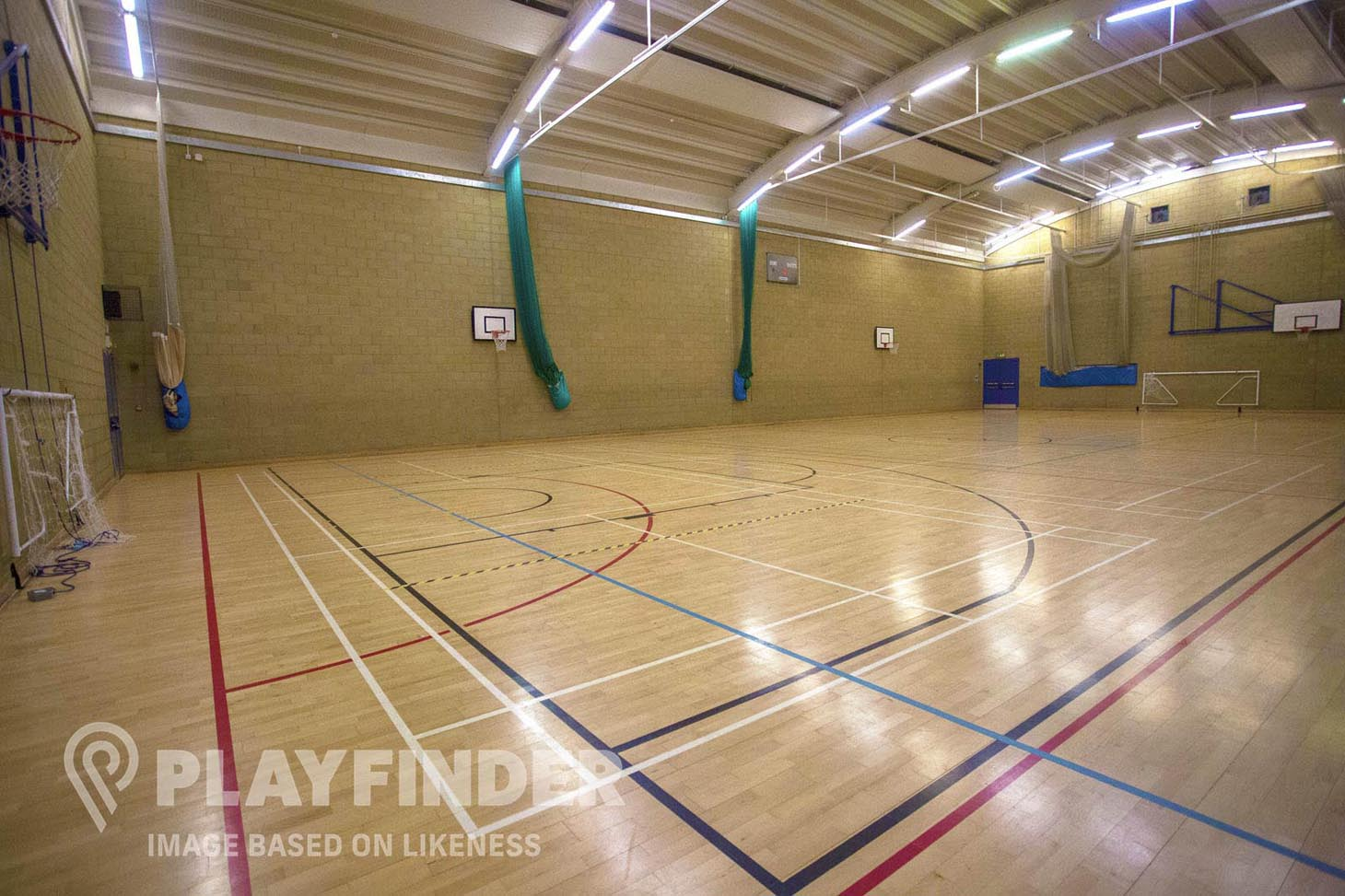 Oaks Park High School Sports hall space hire