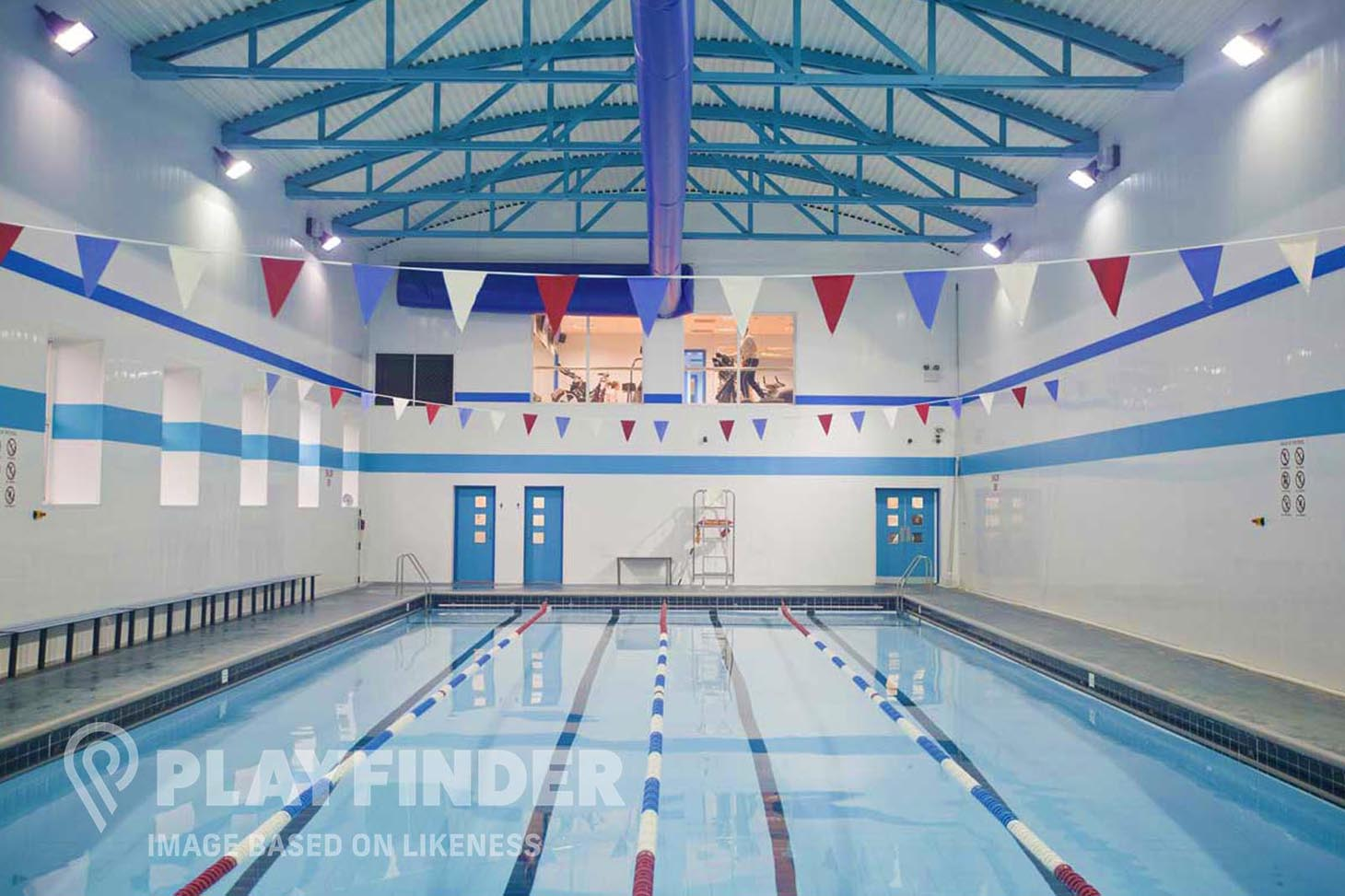 Vale Farm Sports Centre Indoor swimming pool