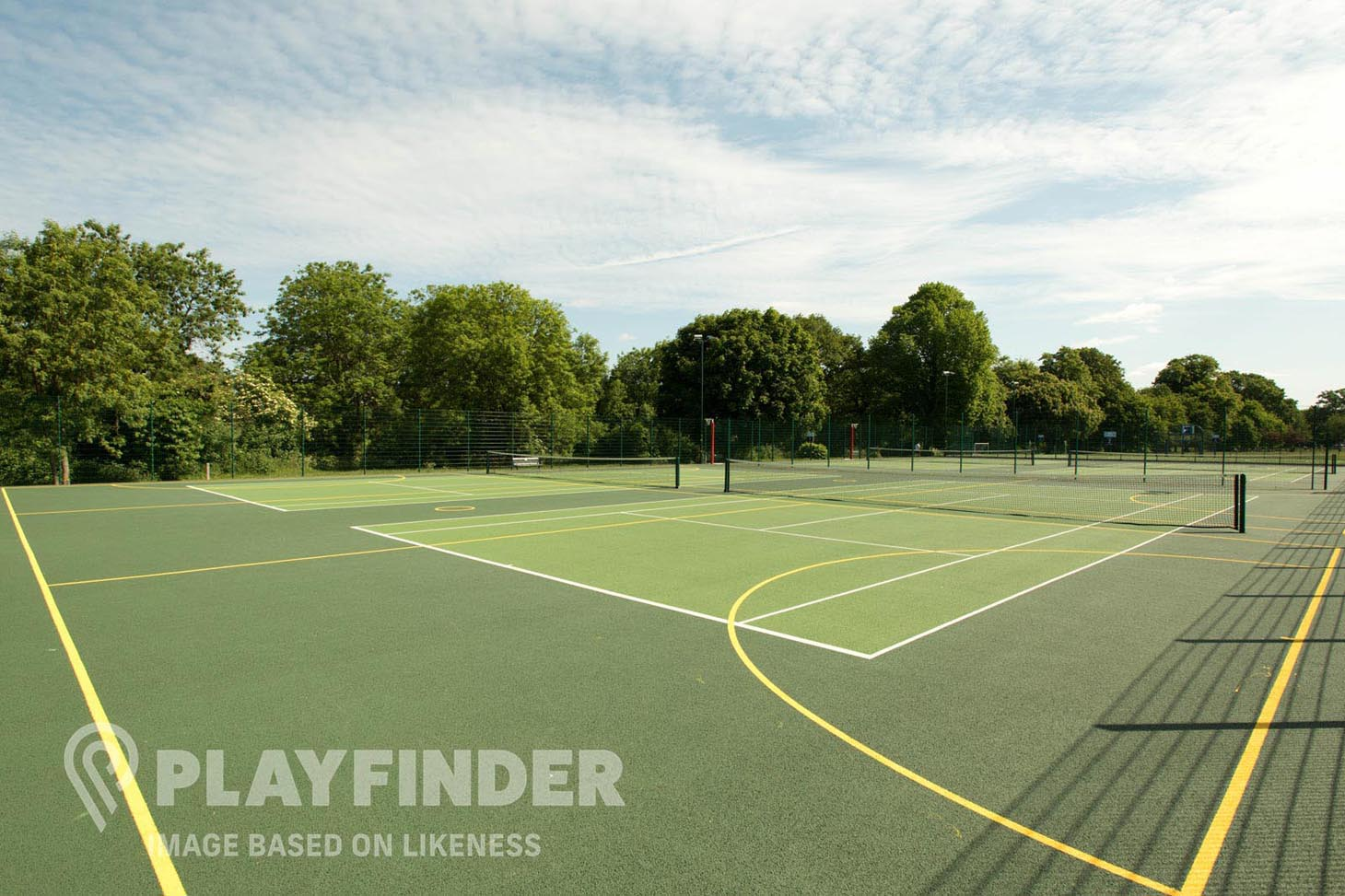 Whalley Range Cricket & Lawn Tennis Club Outdoor | Hard (macadam) tennis court