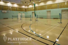 Manchester Health Academy | Hard Badminton Court