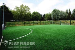 Starks Field Primary School | 3G astroturf Football Pitch