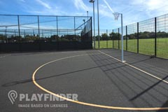 University Of Brighton (Falmer Campus) | Hard (macadam) Netball Court