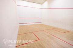 Royal Holloway University Sports Centre | Hard Squash Court