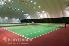 Manor Park | Indoor Tennis Court