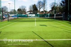 Webster Primary School | Astroturf Tennis Court