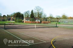 Loreto High School | Concrete Tennis Court