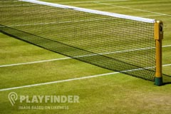 Imperial College - Heston Venue | Grass Tennis Court