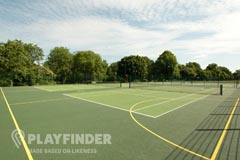 Cringle Playing Fields | Hard (macadam) Tennis Court