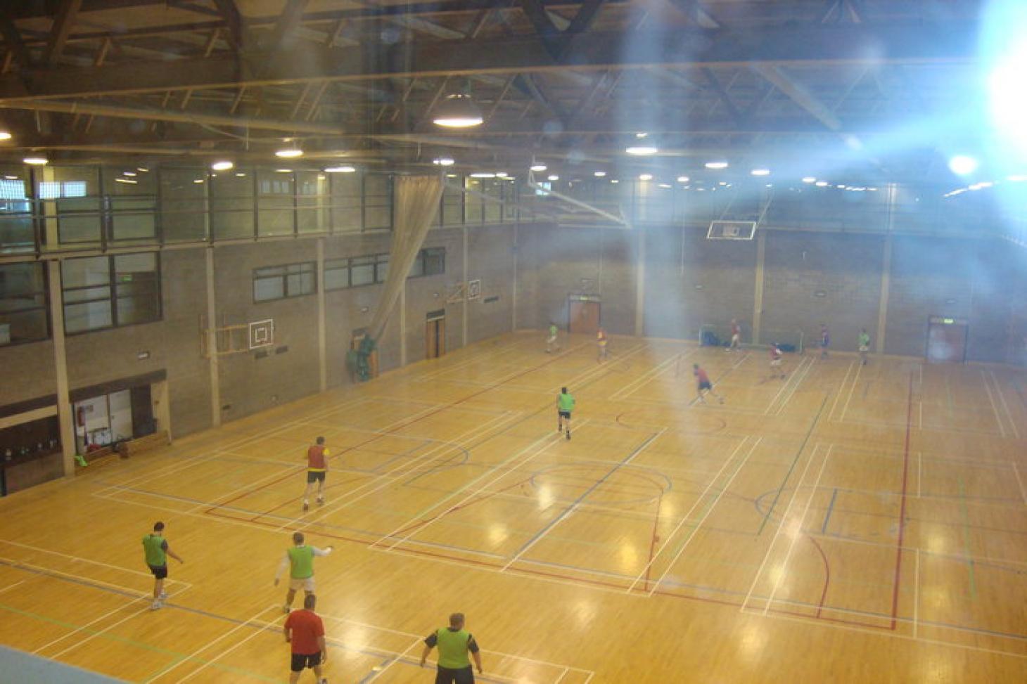 ALSAA Indoor basketball court