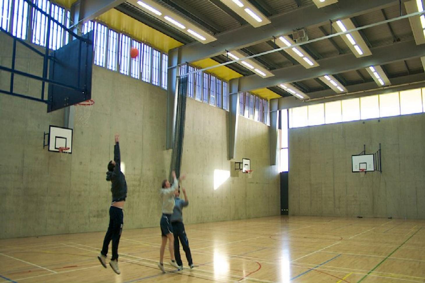 Ballyfermot Sports and Fitness Centre Indoor | Hard badminton court
