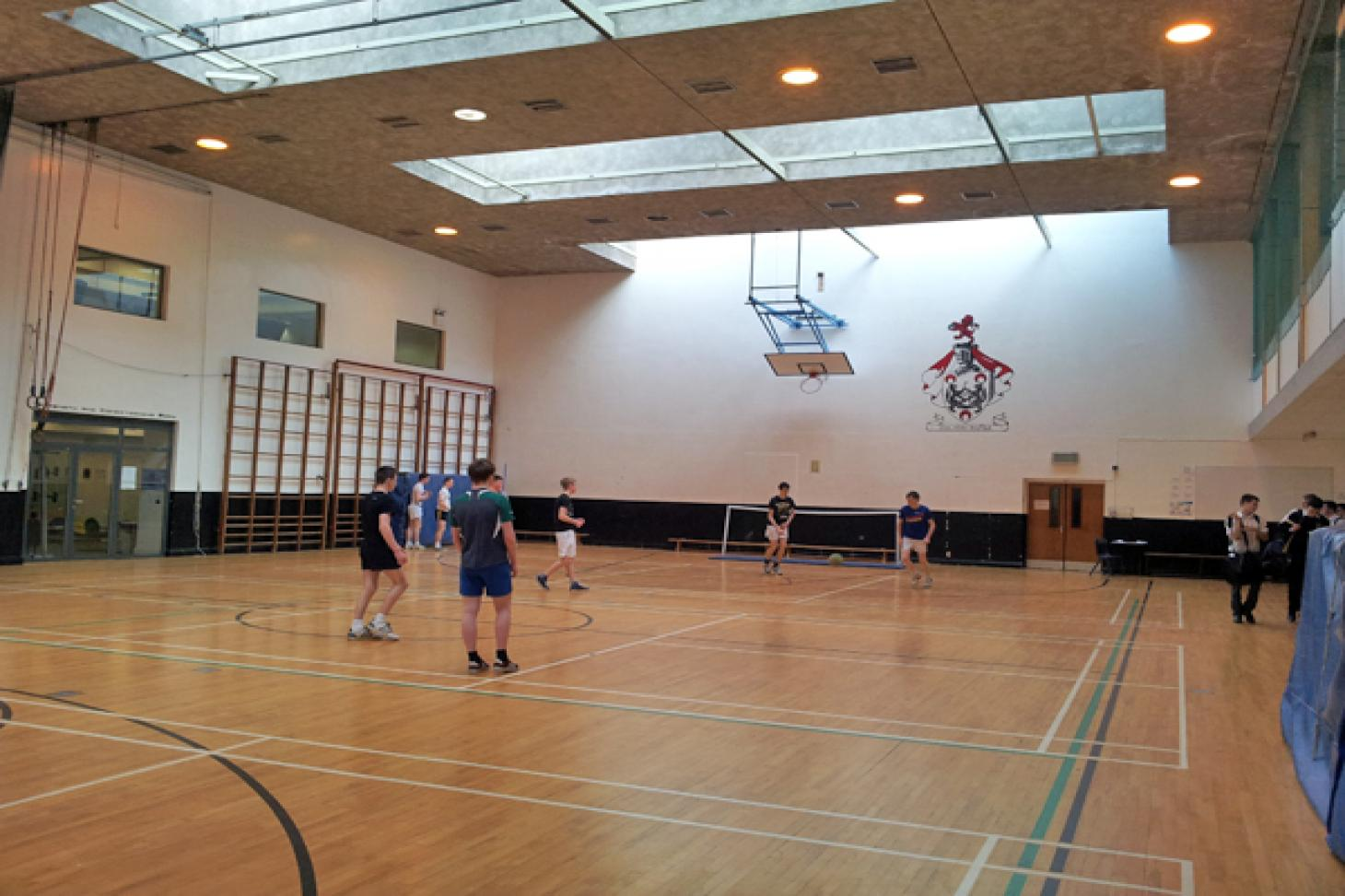 Belvedere College Nets | Sports hall cricket facilities