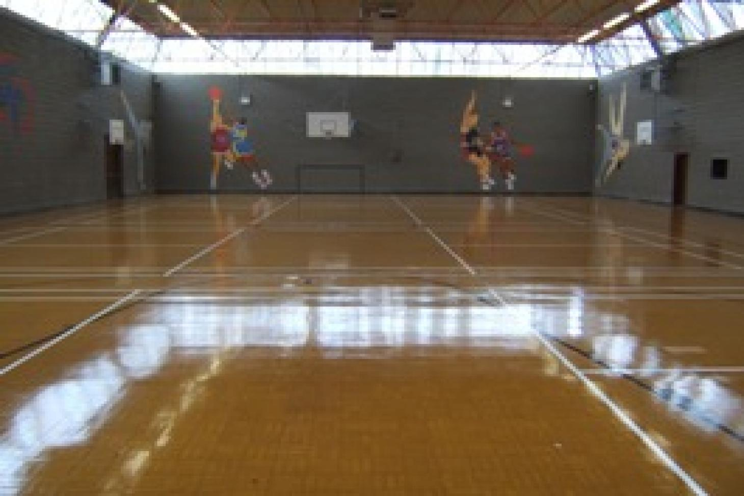 Coolmine Sports & Leisure Centre Indoor basketball court