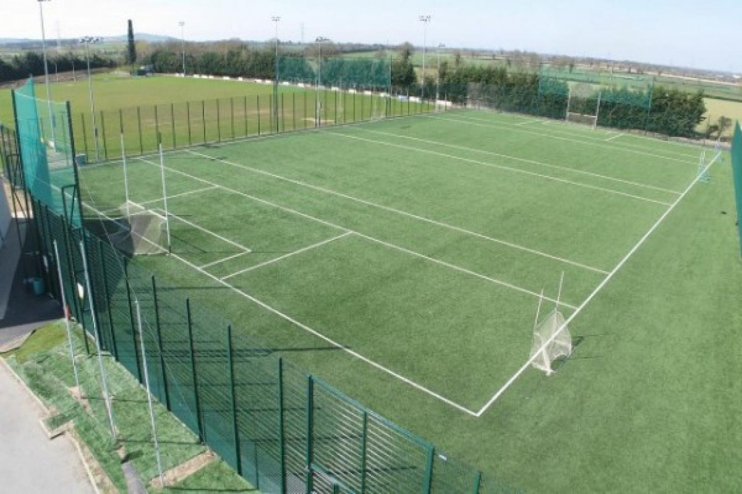 Lucan Sarsfields GAA Full size   Astroturf gaa pitch