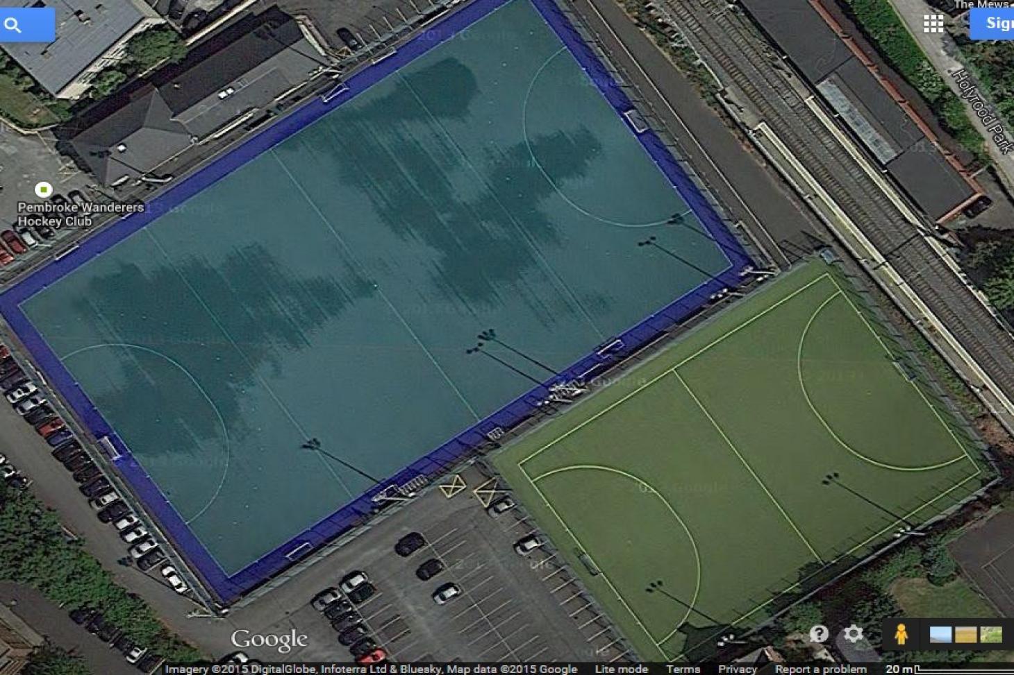 Pembroke Wanderers Hockey Club 5 a side | Astroturf football pitch