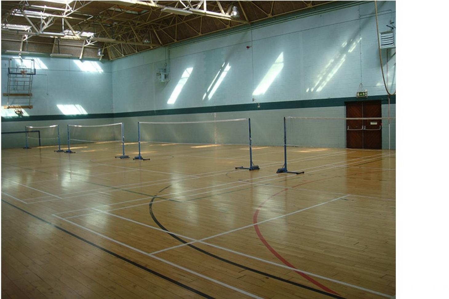 Portmarnock Sports & Leisure Club Indoor | Hard badminton court