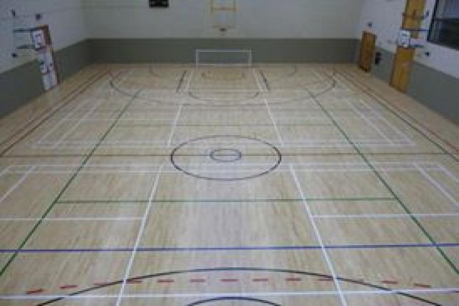 Sportslink Indoor basketball court