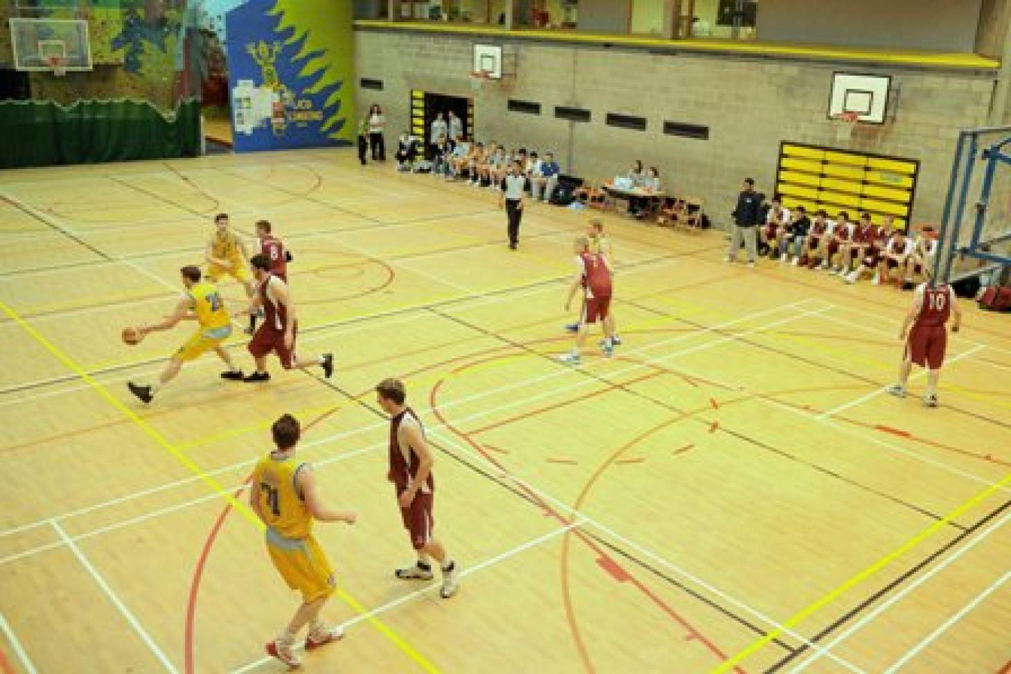 University College Dublin Indoor netball court