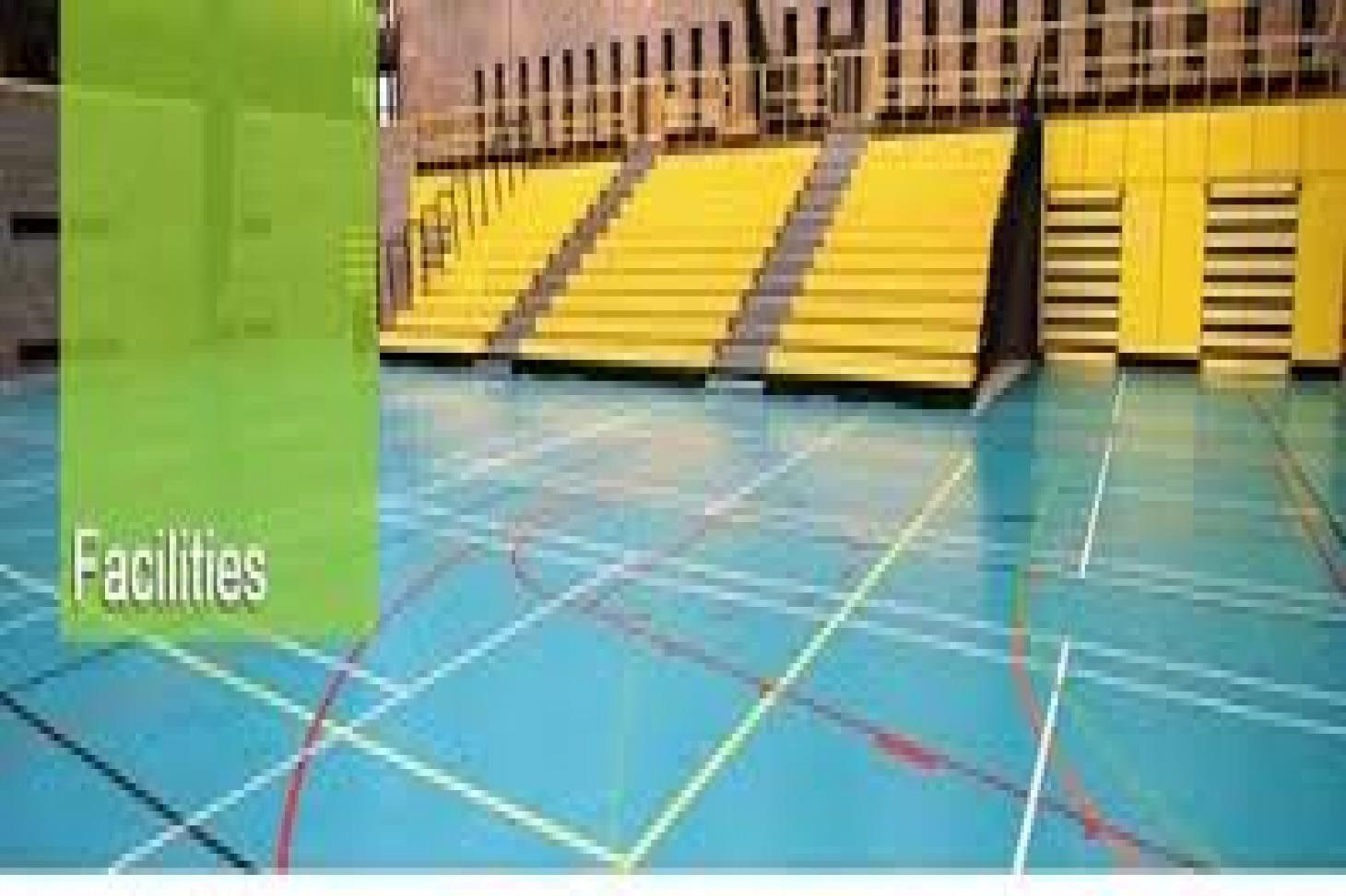University College Dublin Indoor | Hard badminton court