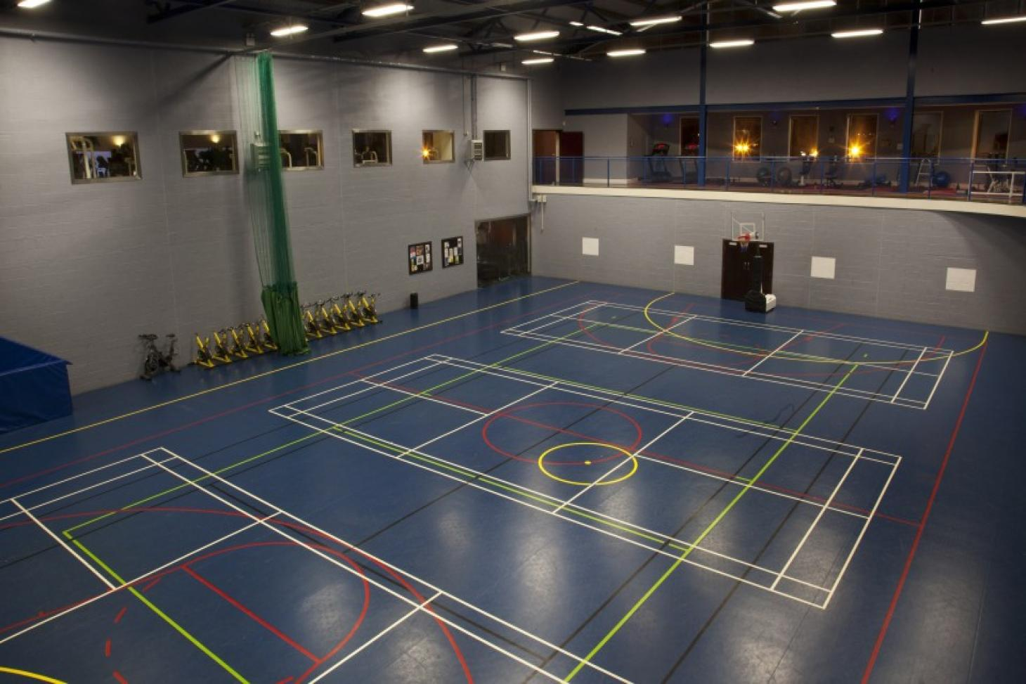 Westmanstown Sports & Conference Centre Indoor | Hard badminton court