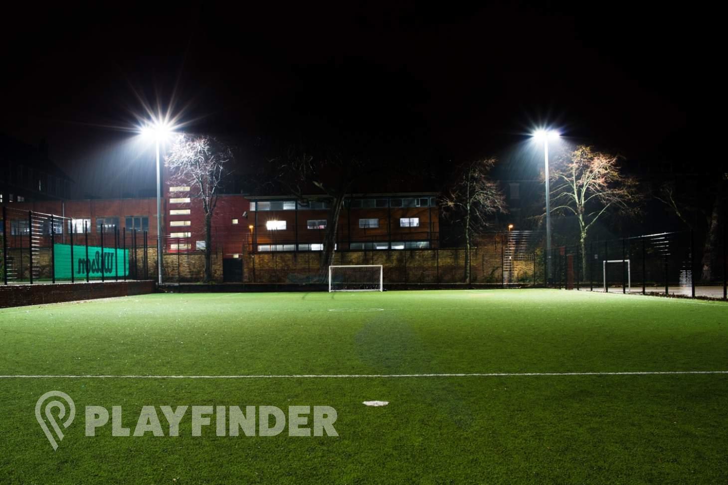 Highbury Fields 7 a side | 3G Astroturf football pitch