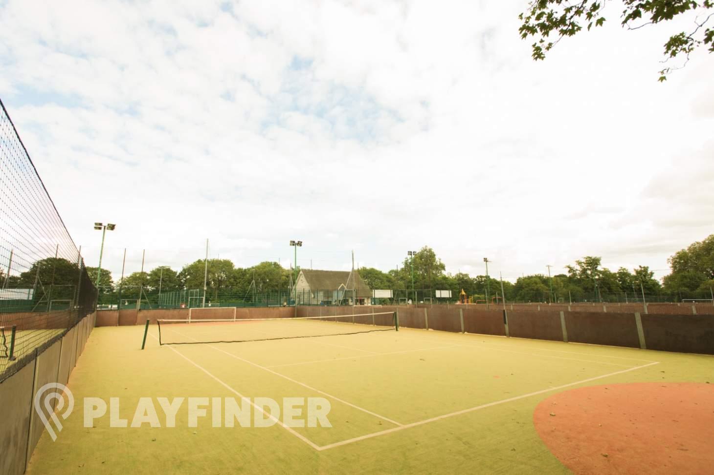 Rocks Lane Chiswick Outdoor | Astroturf tennis court