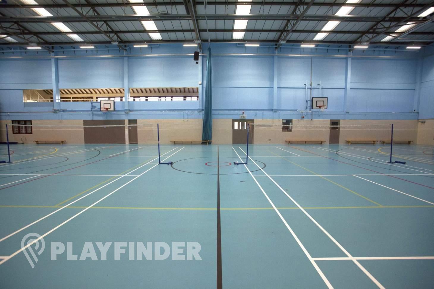 Sylvestrian Leisure Centre Indoor netball court