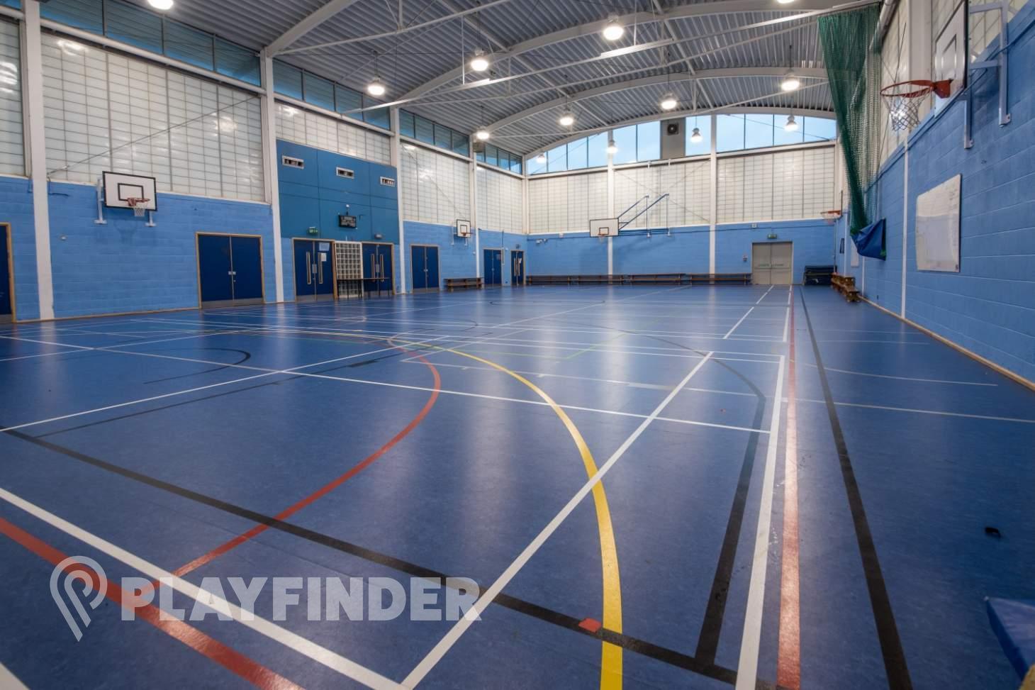Ark Burlington Danes Academy Court | Sports hall netball court