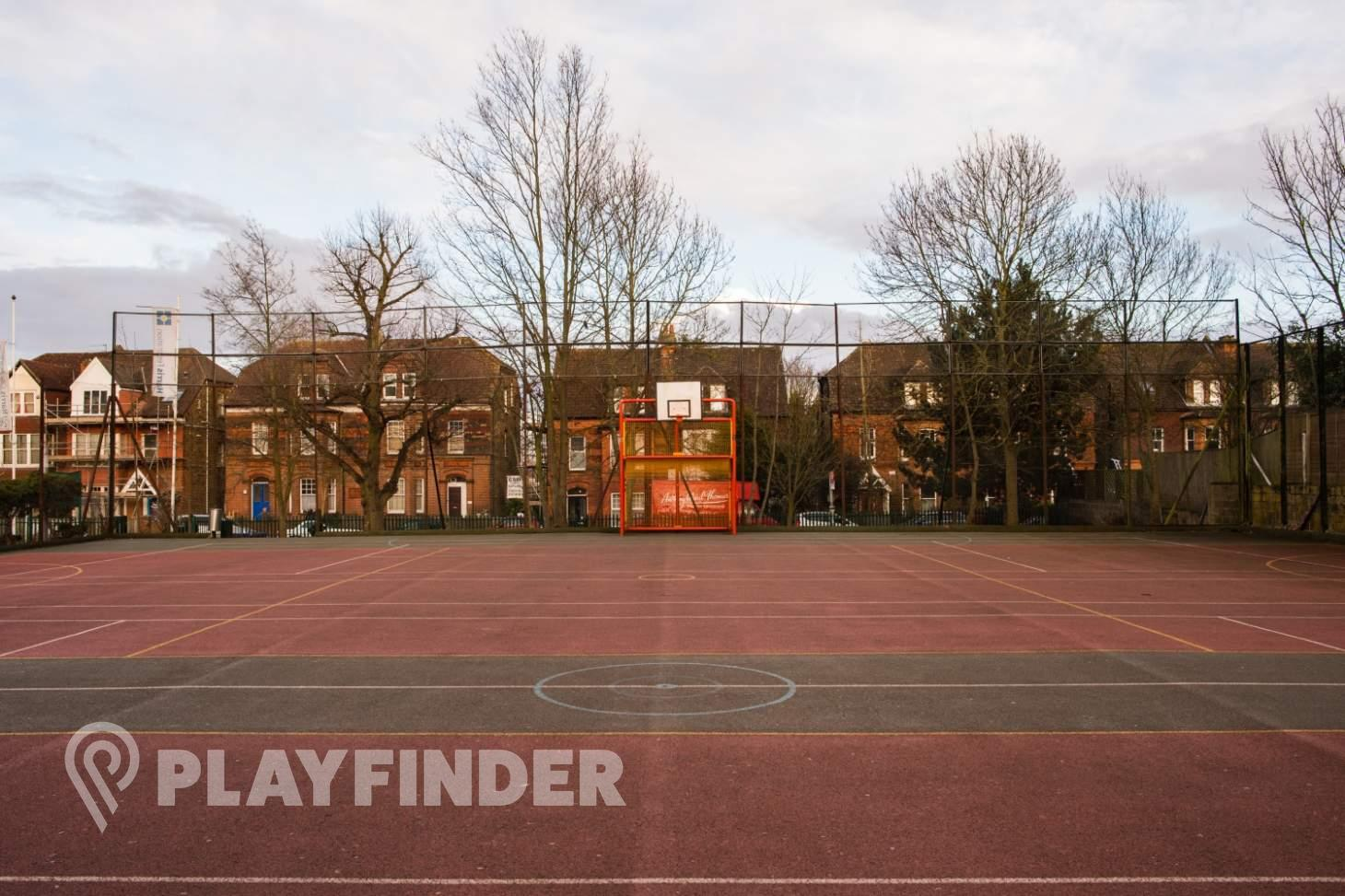 Harris City Academy Crystal Palace Outdoor | Concrete netball court