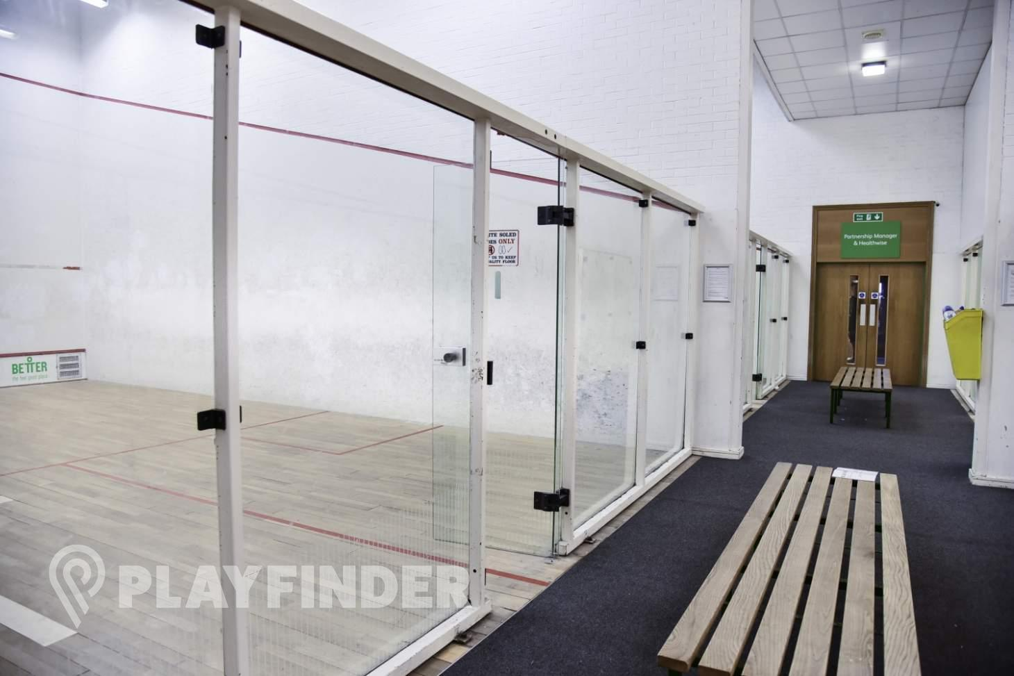 Waterfront Leisure Centre Indoor | Hard squash court