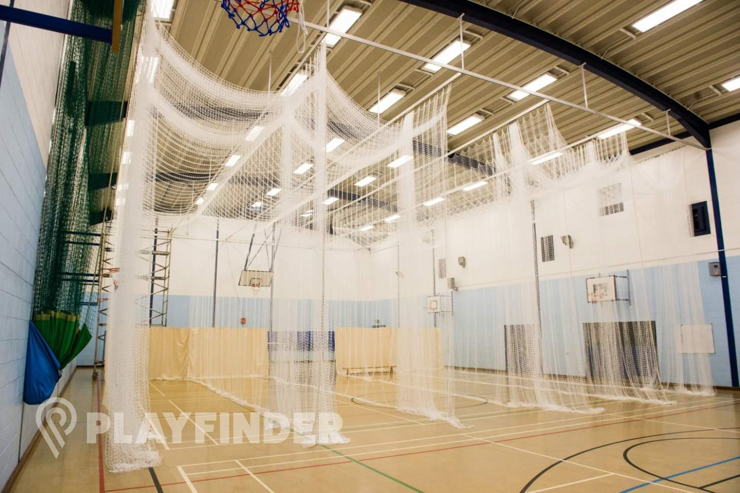 Featherstone Sports Centre Indoor netball court