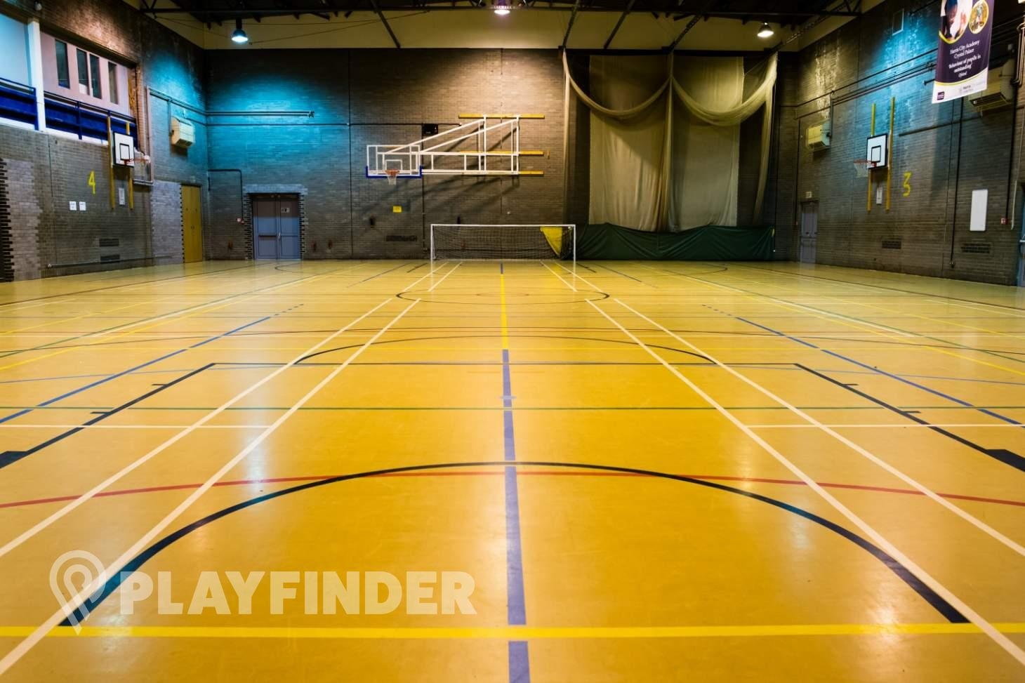 Harris City Academy Crystal Palace Indoor netball court