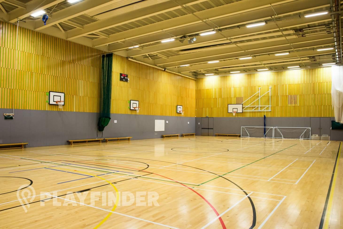 Isaac Newton Academy Indoor netball court