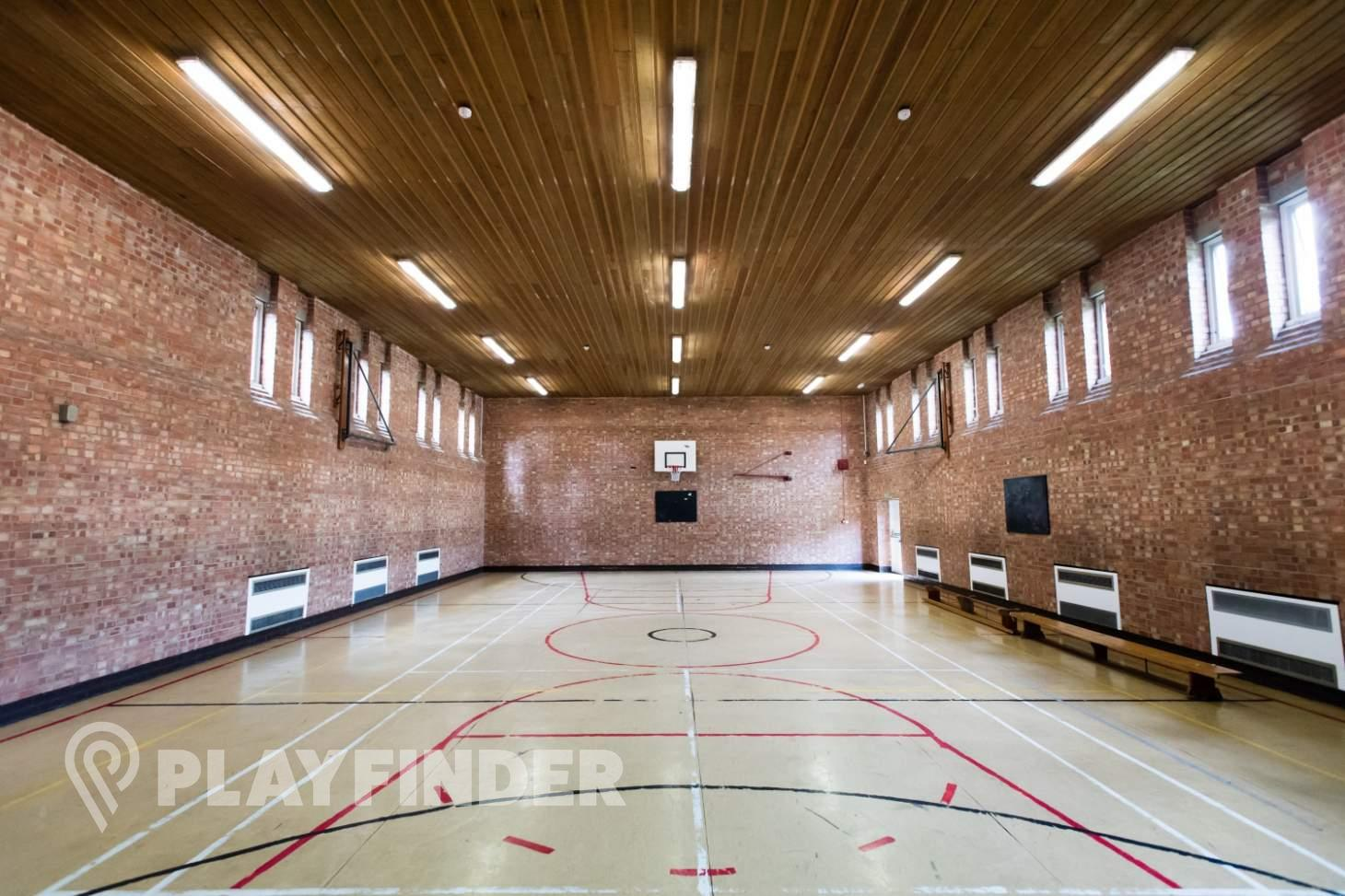 Marcus Lipton Community Enterprise Indoor netball court
