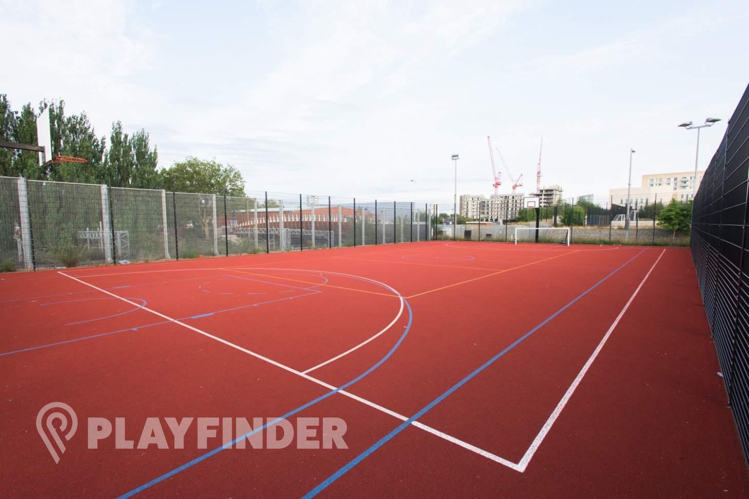Chobham Academy Outdoor | Hard (macadam) netball court