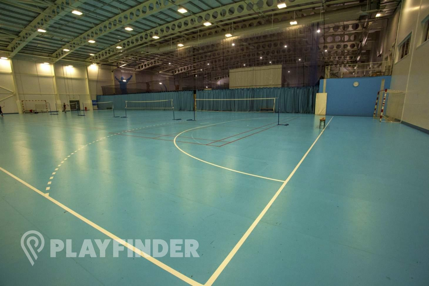 Barking Sporthouse Indoor netball court