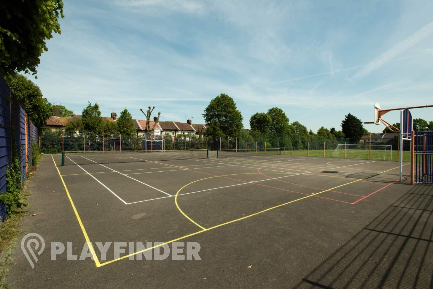 Burnt Oak Leisure Centre Outdoor | Hard (macadam) netball court