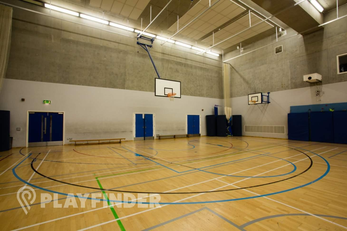 HAKA Sports Complex Indoor netball court