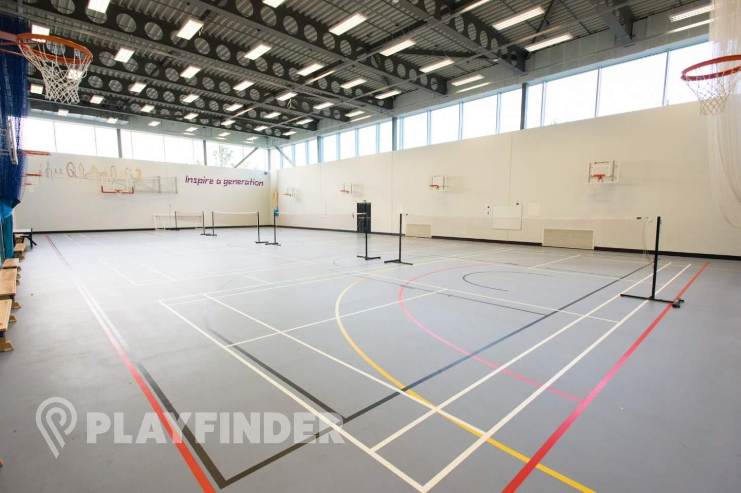 Chobham Academy Indoor basketball court